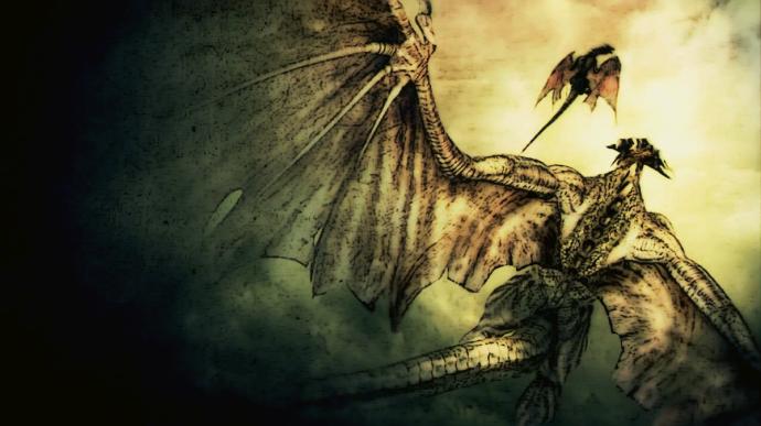 Demons souls and worldbuilding dragon
