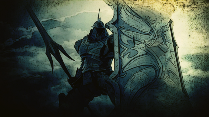 Demons souls and worldbuilding tower knight