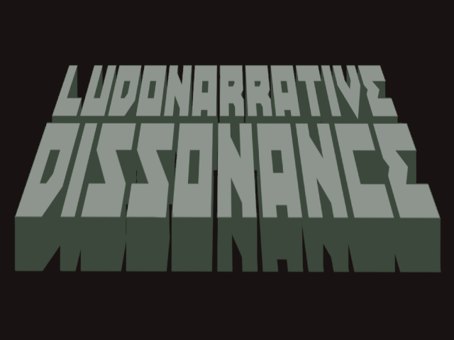 Ludonarrative Dissonance in Papers Please