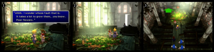 Final Fantasy VII: Camera and Composition