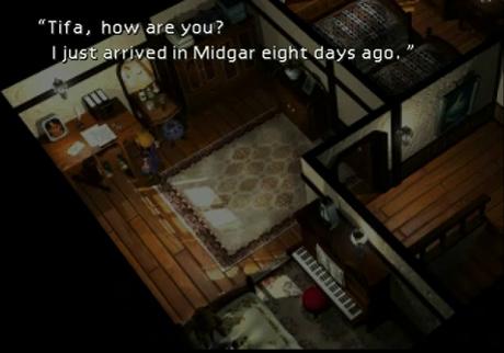 Final Fantasy VII Camera and Composition