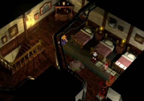 Final Fantasy VII Camera and Composition