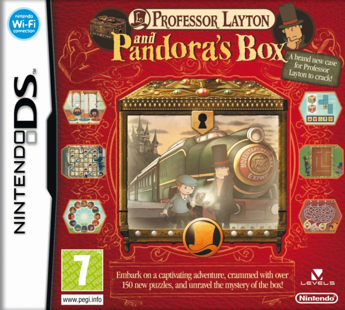 Thoughts on some covers - Professor Layton and Pandoras Box