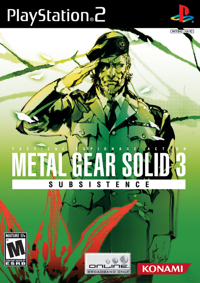 Thoughts on some covers - Metal Gear Solid 3 Subsistence