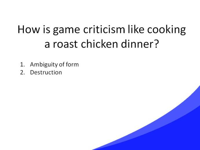 Game Criticism Cooking Slide24