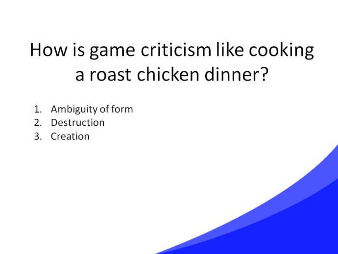 Game Criticism Cooking Slide28
