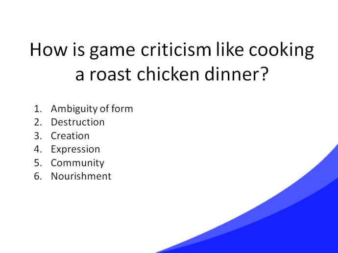Game Criticism Cooking Slide39